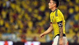 Хамес нарушил правила на партнере во время матча против Аргентины (ВИДЕО)