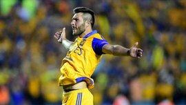 Жиньяк забил сумасшедший гол бисиклетой в Мексике (ВИДЕО)
