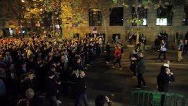 """Фанаты """"Мальме"""" массовым шествием к """"Сантьяго Бернабеу"""" поразили Мадрид (ВИДЕО)"""