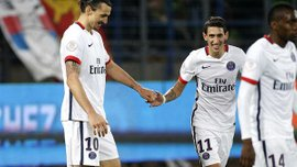 Ибрагимович и Ди Мария были лучшими в Лиге 1 в 2015 году