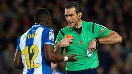 """Ми не діяли жорстко проти """"Барселони"""", у матчі не було крові, - гравець """"Еспаньйола"""" Діоп"""