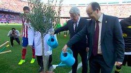 """""""Севілья"""" та """"Атлетіко"""" посадили дерево миру прямо на полі (ФОТО)"""