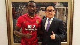 """Джексон Мартінес буде отримувати в """"Гуанчжоу Евергранд"""" 12,5 мільйонів євро в рік"""