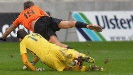 """Защитник """"Линфилда"""" отразил пенальти после удаления вратаря в матче с """"Гленавоном"""""""