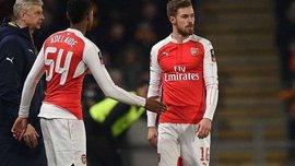 """Ремзі, Мертезакер та Габріель зазнали травм у матчі """"Арсенала"""" проти """"Халл Сіті"""""""