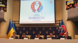 ФФУ презентовала мероприятия, приуроченные к участию Украины на Евро-2016