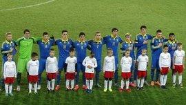 Украина U-20 уступила Англии C в International Challenge Trophy