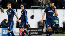 """Хамес опозорился во время сенсационного поражения """"Реала"""" от """"Вольфсбурга"""""""