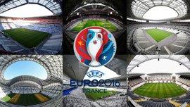 Все стадионы финальной части Евро-2016