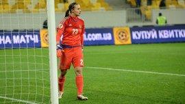 Вратарь женской сборной Украины продемонстрировала невероятный дриблинг
