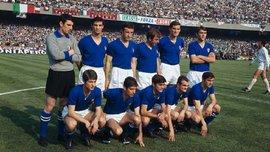 """Історія чемпіонатів Європи в фото. Італія-1968:  """"мильон за Бишовца"""", а у фінал - за 10 франків"""