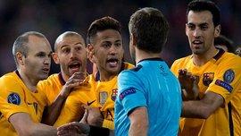 """За что арбитр должен был ставить пенальти в ворота """"Атлетико"""""""