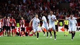 """Коноплянка допоміг  """"Севільї"""" в серії пенальті  здолати """"Атлетік"""" та вийти до півфіналу Ліги Європи"""