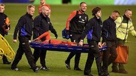 """Защитник """"Эвертона"""" извинился перед Ориджи за то, что нанес ему тяжелую травму"""