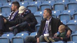 Зворушливе відео, як малюк втікає від батька-фаната на трибунах - найкрутіший огляд матчу
