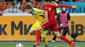 Кравец - самый эффективный нападающий сборной Украины