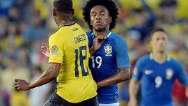 Копа Америка. Бразилия с Виллианом и Дани Алвесом не смогла одолеть Эквадор