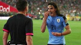 Копа Амеріка-2016. Як Уругваю увімкнули гімн Чилі - Годін підспівує, Суарес в шоці