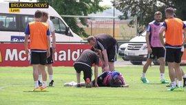 Лидер Северной Ирландии травмировался на тренировке перед Евро-2016