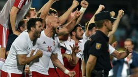 Как Грузия сходила с ума после победы над Испанией