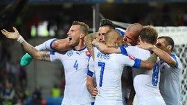 Россия проиграла Словакии во втором матче на Евро-2016