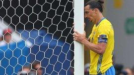 Жахливий промах Ібрагімовіча з вбивчої позиції у матчі з Італією