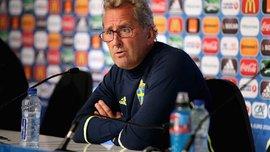 Головний тренер збірної Швеції розчарований результатом гри проти Італії