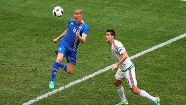 Колбейн Сигторссон — игрок матча Исландия - Венгрия по версии УЕФА