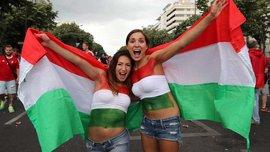 Болельщицы дня: фанатки Венгрии показали свои прелести во всей красе