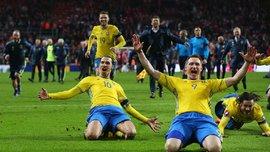 Ибрагимович и Чельстрем пропустили тренировку сборной Швеции