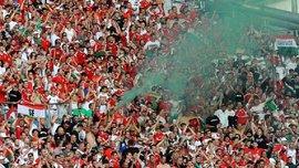 УЕФА объявил свое решение относительно поведения венгерских фанатов на матче Евро-2016
