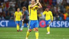 Ибрагимович и еще двое игроков сборной Швеции закончили свои выступления в национальной команде