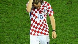 Как Роналду и Пепе успокаивали Модрича после вылета Хорватии с Евро