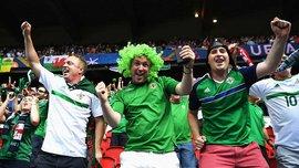 Как фанаты Северной Ирландии безумно встретили команду после Евро-2016