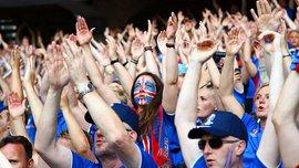 Матч против Англии собрал фантастическую телеаудиторию в Исландии