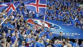 Всего 298 исландцев не смотрели матч своей сборной против Англии