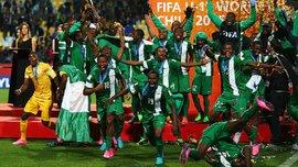 26 гравців молодіжної збірної Нігерії провалили тест на вік