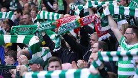 """УЕФА накажет """"Селтик"""" за выходки фанатов с палестинскими флагами в матче Лиги чемпионов"""