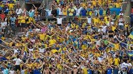 Стало известно, сколько будут стоить билеты в фан-зону на матч Украина – Исландия