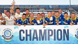 Як Україна стала чемпіоном Євроліги-2016 у пляжному футболі
