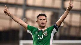 Легендарный Робби Кин забил шикарный гол в своем последнем матче за сборную Ирландии