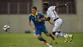 Украина U-21 в компенсированное время переиграла Францию U-21 в матче отбора к Евро-2017