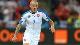 Вайсс арештований через водіння у нетверезому стані та не зіграє за Словаччину