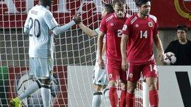 Отбор ЧМ-2018: Бельгия разгромила Гибралтар, Греция одержала третью подряд победу