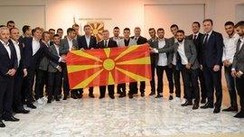 Македонія U-21 феєрично відсвяткувала вихід на Євро-2017, здобутий завдяки збірній України
