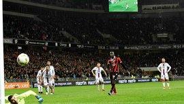 """Пенальти Балотелли эффектно вытащил вратарь, но """"Ницца"""" повторила 41-летний рекорд"""