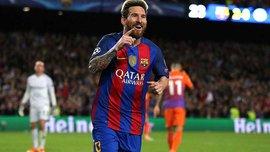"Лига чемпионов, группа С. ""Барселона"" благодаря хет-трику Месси разгромила ""Манчестер Сити"""