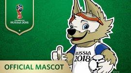 Волк стал талисманом ЧМ-2018