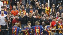 """Фанат """"Валенсії"""" пояснив, чому жбурнув пляшку в Неймара і вибачився перед """"Барселоною"""""""