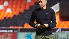 """Луис Энрике: """"Барселона"""" не может каждый раз побеждать соперника, забивая ему много голов"""